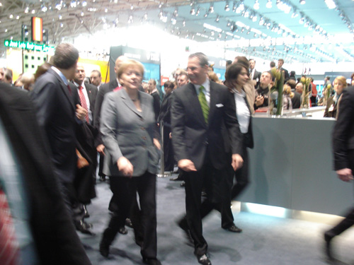 Bundeskanzlerin Angela Merkel, 2. M&#228;rz 2010, CeBIT